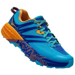 נעליים הוקה לנשים Hoka One One Speedgoat 3 - כחול/כתום