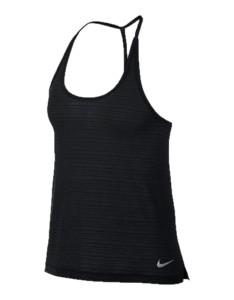 ביגוד נייק לנשים Nike Nk Miler Tank Brthe - שחור
