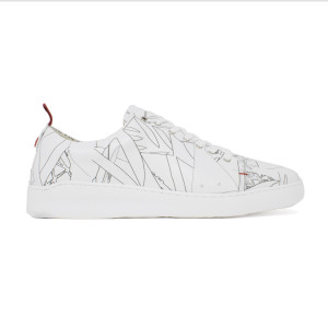 נעליים נו ברנד לגברים NOBRAND Art 3 - לבן