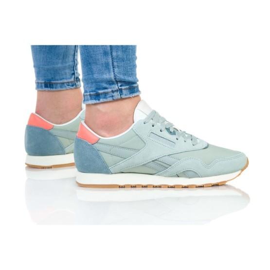 נעליים ריבוק לנשים Reebok Classic Nylon - תכלת