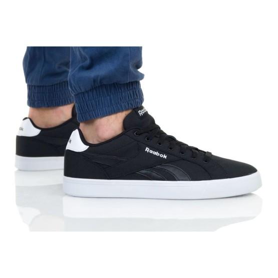 נעלי סניקרס ריבוק לגברים Reebok Royal Complete 3.0 - לבן/שחור