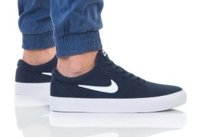 נעלי סניקרס נייק לגברים Nike SB CHARGE SLR - כחול כהה