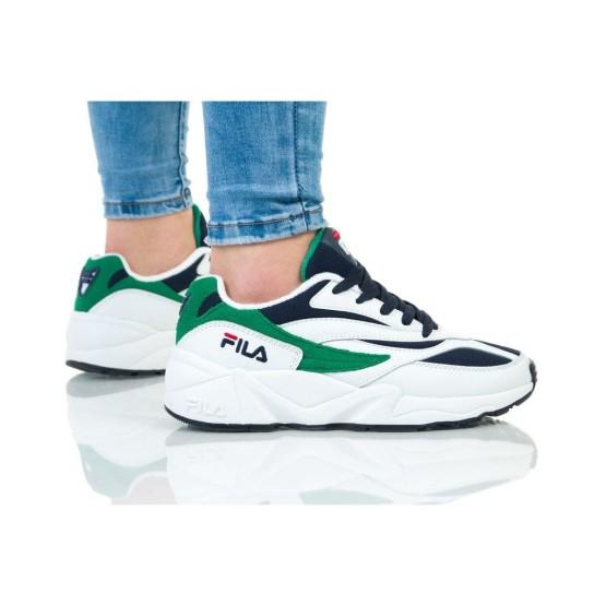נעליים פילה לנשים Fila V94M LOW - לבן/ירוק
