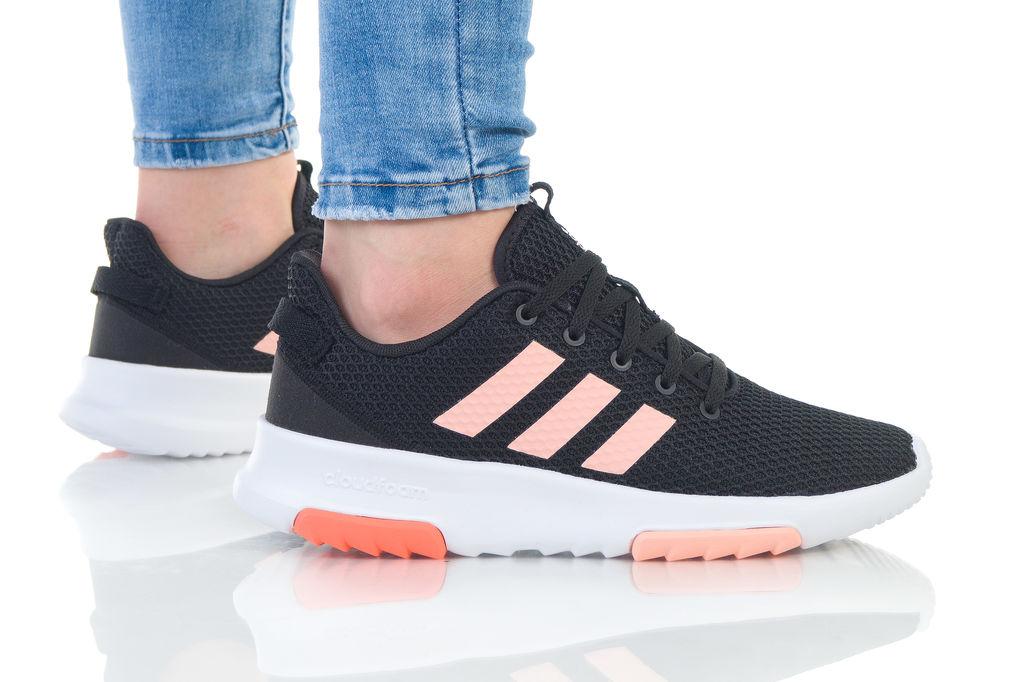 נעליים אדידס לנשים Adidas CF Racer TR - שחור/לבן