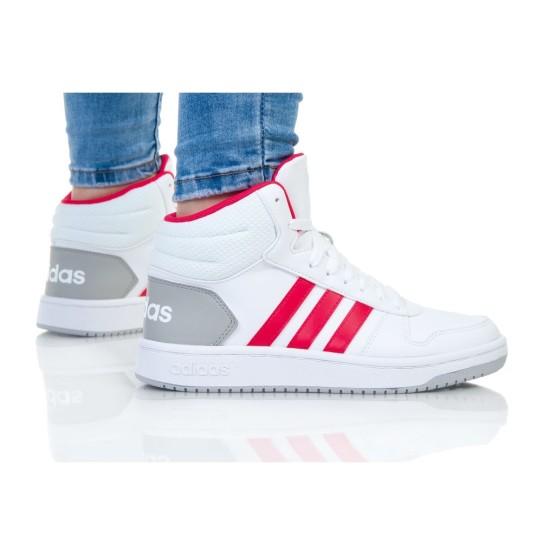 נעליים אדידס לנשים Adidas HOOPS MID 2 K - לבן