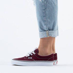 נעלי סניקרס ואנס לגברים Vans Ua Era - בורדו