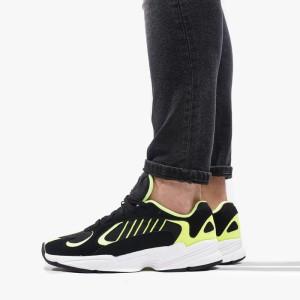 נעליים Adidas Originals לגברים Adidas Originals Yung-1 - שחור/צהוב