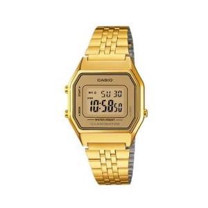 אביזרים קסיו לנשים CASIO LA680WGA9D - זהב