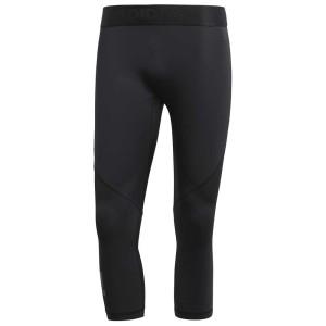 ביגוד אדידס לגברים Adidas Alphaskin Sport 3/4 - שחור