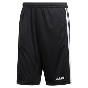 ביגוד אדידס לגברים Adidas Design 2 Move Climacool 3 Stripes Knit Shorts Regular - שחור