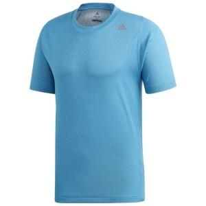 ביגוד אדידס לגברים Adidas Freelift 360 Fitted Climachill - כחול
