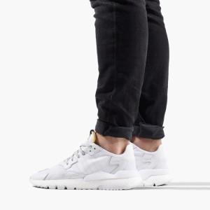 נעליים Adidas Originals לגברים Adidas Originals Nite Jogger - לבן