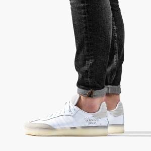 נעליים Adidas Originals לגברים Adidas Originals Samba RM - לבן