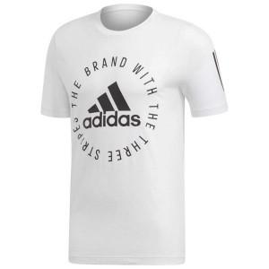 ביגוד אדידס לגברים Adidas Sport ID Elongated - לבן