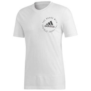 ביגוד אדידס לגברים Adidas Sport ID Mesh - לבן