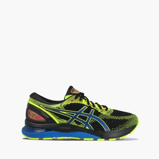 נעליים אסיקס לגברים Asics Gel-Nimbus - שחור/צהוב