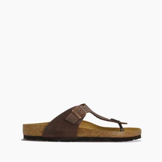 נעליים בירקנשטוק לגברים Birkenstock Gizeh - חום
