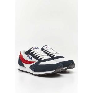 נעליים פילה לגברים Fila ORBIT JOGGER N LOW - לבן  כחול  אדום