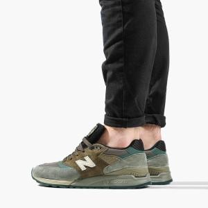 נעליים ניו באלאנס לגברים New Balance M998 - ירוק