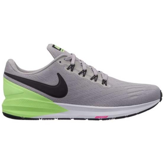 נעליים נייק לגברים Nike Air Zoom Structure 22 - אפור