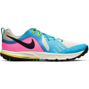 נעליים נייק לגברים Nike Air Zoom Wildhorse 5 - כחול/לבן