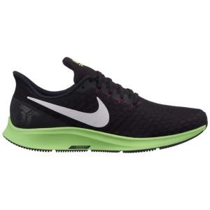 נעליים נייק לגברים Nike Air zoom Pegasus 35 - שחור/ירוק