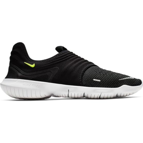 נעליים נייק לגברים Nike Free RN Flyknit 3 - שחור