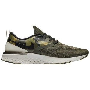 נעליים נייק לגברים Nike Odyssey React 2 Flyknit - ירוק