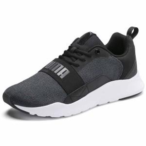 נעליים פומה לגברים PUMA Wired Knit - אפור