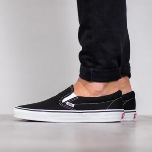נעליים ואנס לגברים Vans Classic Slip On - שחור