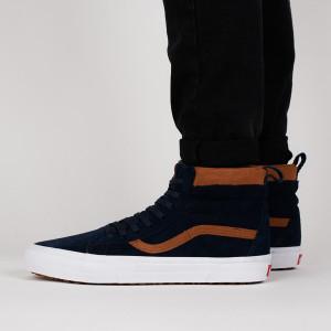 נעליים ואנס לגברים Vans Sk8-Hi MTE - שחור/חום