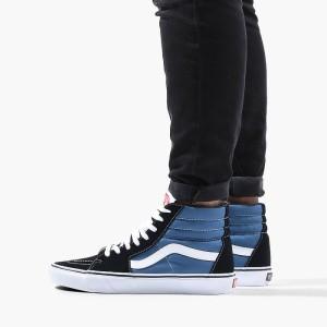 נעליים ואנס לגברים Vans Sk8-Hi - שחור/כחול