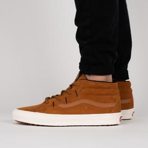 נעליים ואנס לגברים Vans Sk8-MId Reissue Ghillie MTE - חום