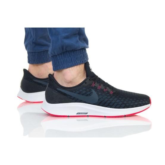 נעליים נייק לגברים Nike Air zoom Pegasus 35 - שחור