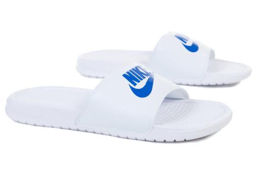 כפכפים נייק לגברים Nike BENASSI JDI PRINT - לבן