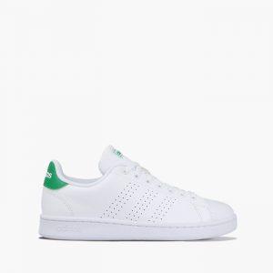 נעליים אדידס לגברים Adidas Advantage - לבן/ירוק