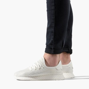 נעליים Adidas Originals לנשים Adidas Originals  Deerupt Runner - לבן/ורוד