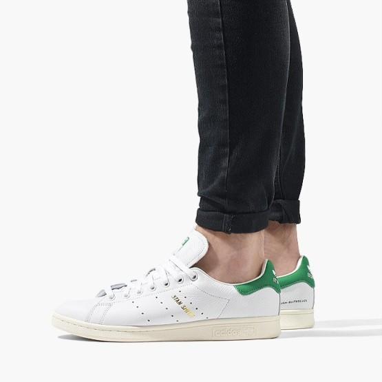 נעליים Adidas Originals לנשים Adidas Originals Stan Smith - לבן/ירוק