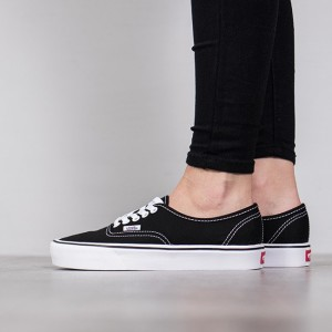 נעליים ואנס לנשים Vans Authentic Lite - שחור/לבן