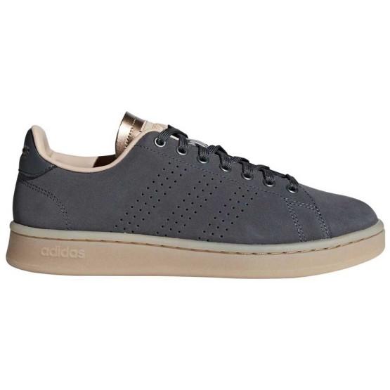 נעלי סניקרס אדידס לנשים Adidas Advantage - אפור