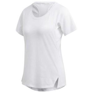 ביגוד אדידס לנשים Adidas Aeroknit Linear Floral Jacquard - לבן