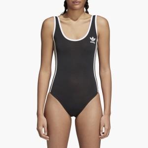 בגד ים אדידס לנשים Adidas Originals 3 Stripes Body - שחור