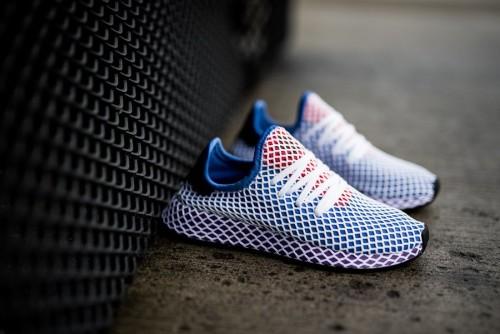 נעליים Adidas Originals לנשים Adidas Originals Deerupt Runner - כחול