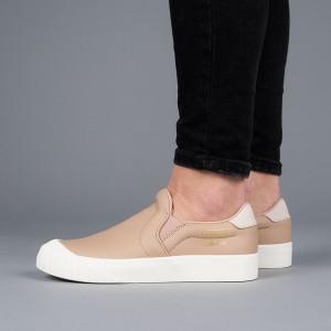 נעליים Adidas Originals לנשים Adidas Originals Everyn Slipon - חום