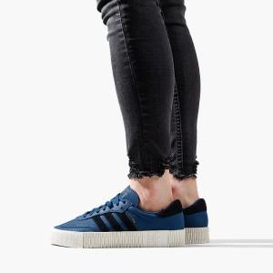 נעליים Adidas Originals לנשים Adidas Originals Sambarose - כחול
