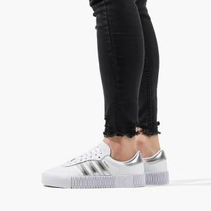 נעליים Adidas Originals לנשים Adidas Originals Sambarose - לבן