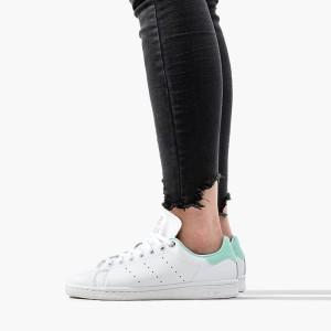 נעליים Adidas Originals לנשים Adidas Originals Stan Smith W - לבן/ירוק