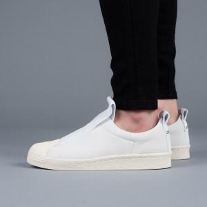 נעליים Adidas Originals לנשים Adidas Originals Superstar Bw3s Slip On W - לבן
