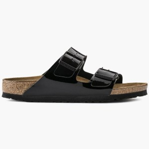 כפכפים בירקנשטוק לנשים Birkenstock Arizona - שחור מלא
