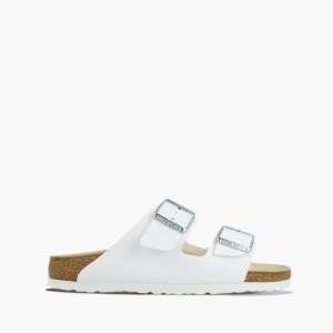 נעליים בירקנשטוק לנשים Birkenstock Arizona - לבן